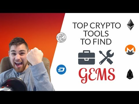 TOP CRYPTO TOOLS TO USE TO FIND GEMS!