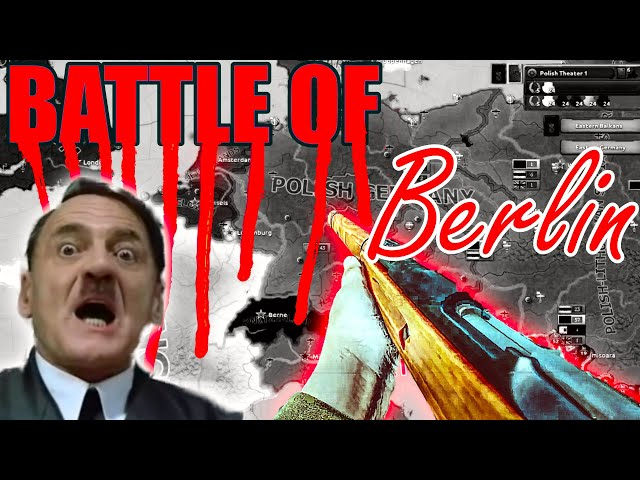Poland does the Battle of Berlin in Hearts of Iron 4