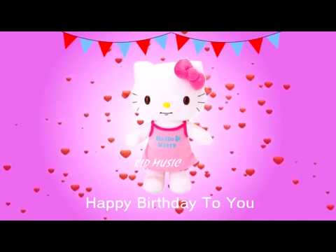 Hello Kitty Song | Happy Birthday Song Nursery Rhymes Kids Songs And Baby Song