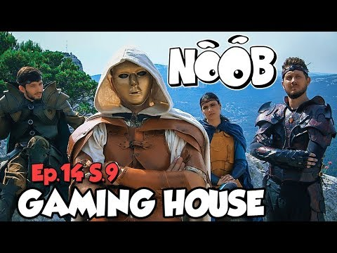 NOOB : S09 ep14 : GAMING HOUSE