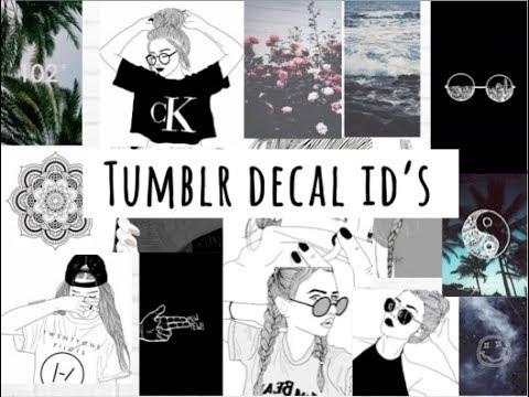 Tumblr Decal Id S Welcome To Bloxburg Youtube
