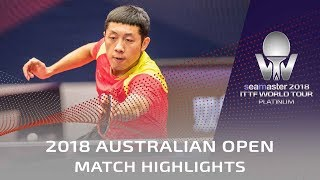 Xu Xin vs Taimu Arinobu | 2018 Australian Open Highlights (R32)