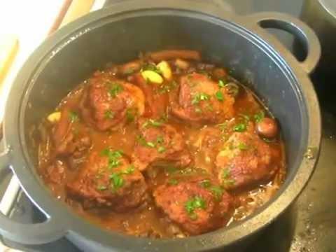Chicken Cacciatore (professional restaurant recipe) ItalianYouTube
