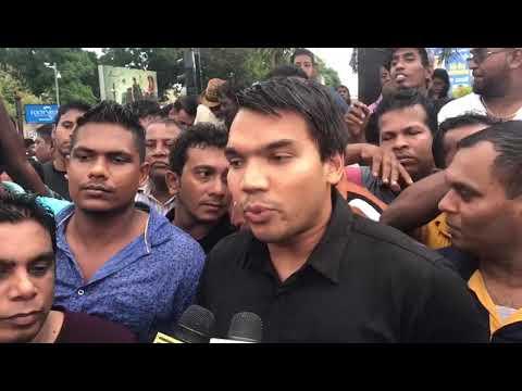 Namal Rajapaksa takes on IGP's CCTV Video
