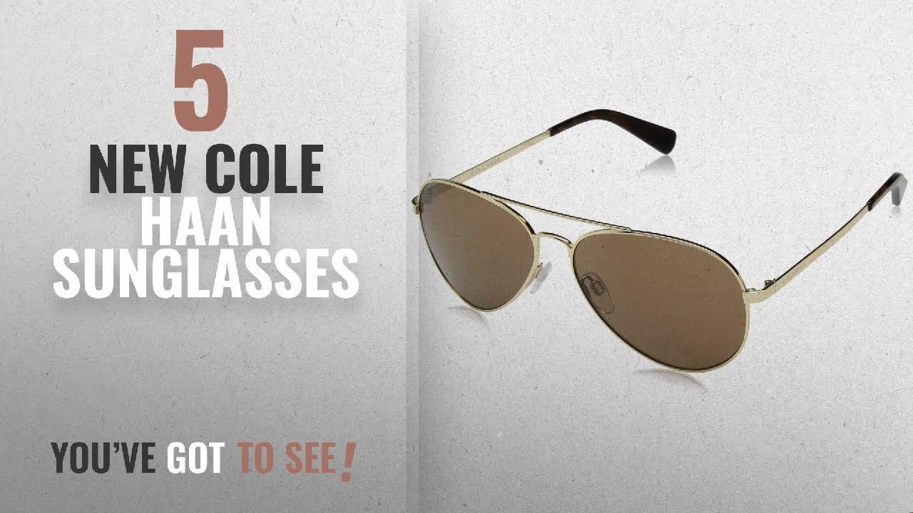 646b8a54576 Top 10 Cole Haan Sunglasses   Winter 2018    Cole Haan Men s Ch6007 Metal Aviator  Sunglasses
