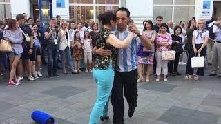 Аргентинское танго на Никольской, Москва, 21.06.2018