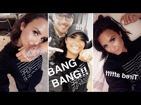 Demi Lovato   Snapchat Videos   April 25th 2017