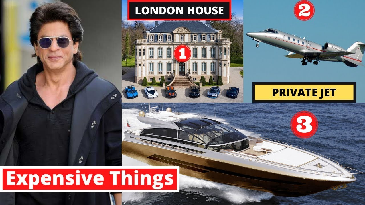 10 Most Expensive Things ShahRukh Khan Owns In 2020
