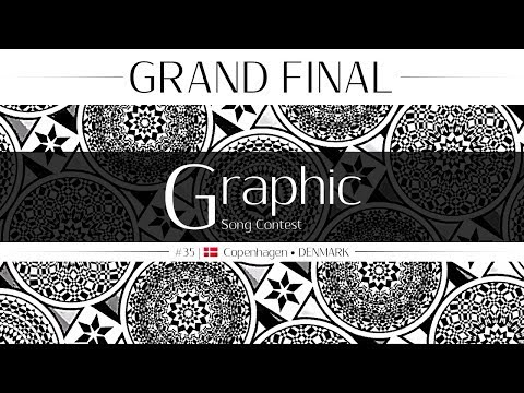 🎼Graphic Song Contest #35 ● Grand Final | Copenhagen, Denmark