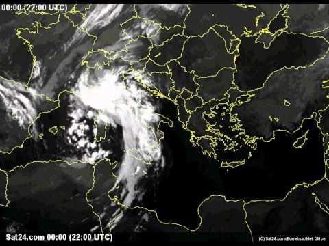 31 Agosto - 6 Settembre 2012. Ciclogenesi sul Golfo di Genova (IR - Italia)