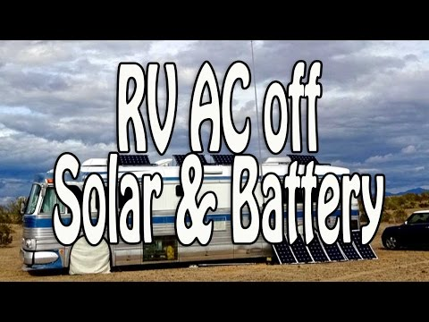 Flexible RV Electrical Systems - Running an AC Off Battery, Solar & Hybrid Inverter