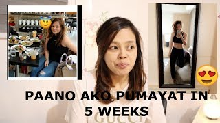 PAANO AKO PUMAYAT 15LBS LOST. HOW TO BURN MORE FATS.HEALTHY WAY.