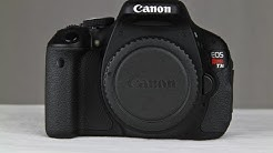 What Each Function Of The Canon T3I Or 600D Does & How To Use Them Part 1