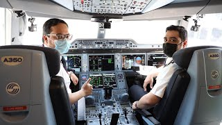 Welcome Onboard the World's First Fully Vaccinated Flight | Qatar Airways