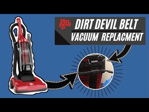 Dirt Devil Vacuum Belt Replacement.