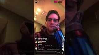 Brendon Urie's Instagram Livestream (1/2/18)