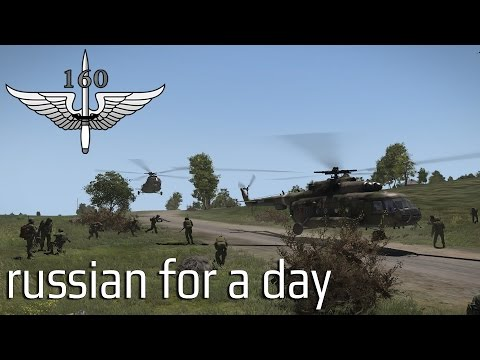 160th SOR - Russian for a day - Australian ArmA3 coop