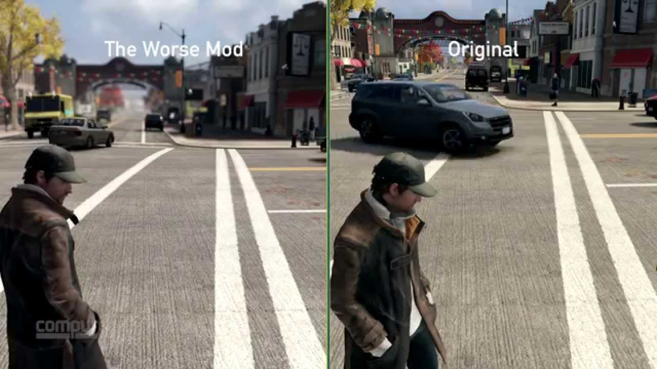 Watch dogs e3 2012 mod direct comparison ultra (pc) with download.