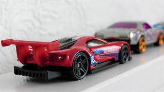 NEW HOT WHEELS CARS DRIVING IN ONE LINE