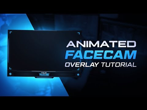 Animated Facecam Overlay Tutorial (FREE PSD+AEP) - Tutorial By EdwardDZN