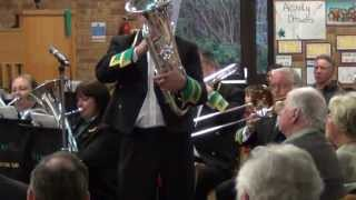 Andrew Ingleby Performs Grandfather's Clock With The Vernon Building Society (poynton) Brass Band