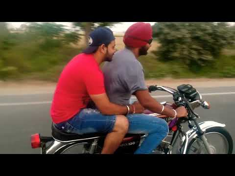 Yamaha rx100 (top speed 90kmph) awesome sound (lol)