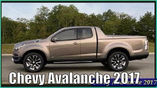 New Chevy Avalanche 2017 4 Door Truck Interior Exterior Concept