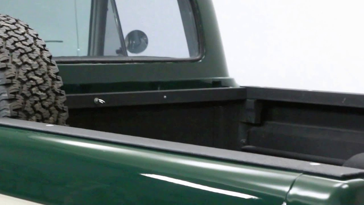 1964 Ford F100 4x4 For Sale Youtube Black