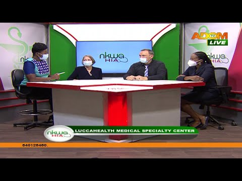 LuccaHealth Medical Specialty Center – Nkwa Hia on Adom TV (9-10-20)