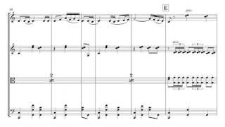 Ravel Bolero | String Quartet Sheet Music