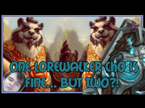 One Lorewalker Cho is fine... but TWO?! | Quest rogue | The Witchwood | Hearthstone