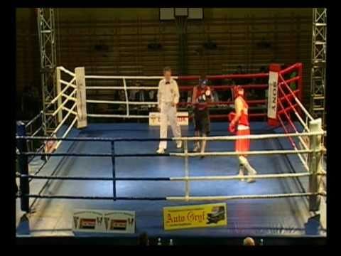 Półfinał Grand Prix PZB 56kg JAWOREK Kamil vs BROM...