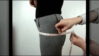 How to Take measurement for Ladies Trouser / Perfect Ladies Trouser Measurement with Easy Formula