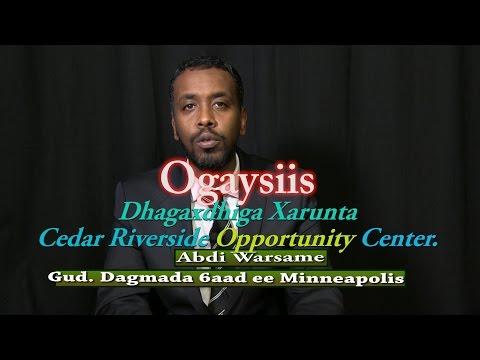 Ogaysiis Dhagaxdhiga Xarunta Cedar Riverside Opportunity Center