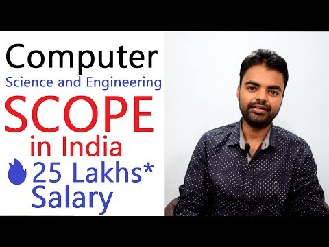 Scope of Computer Science and Engineering in India, Field to Choose, M.Tech, MBA, Salary
