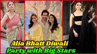 Alia Bhatt Grand Diwali Party with Big Stars