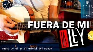 """Cómo tocar """"Fuera de Mi"""" de La Ley en Guitarra Acústica (HD) Tutorial - Christianvib"""