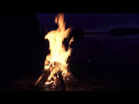 🔥 Sparkling Crackling Campfire 🎧 Drums Of The Deep & Native American Flute 7 Hours