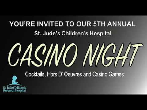 Gigeo® Invitation to a Casino Themed Charity Party  - Robert De Niro (impersonator)