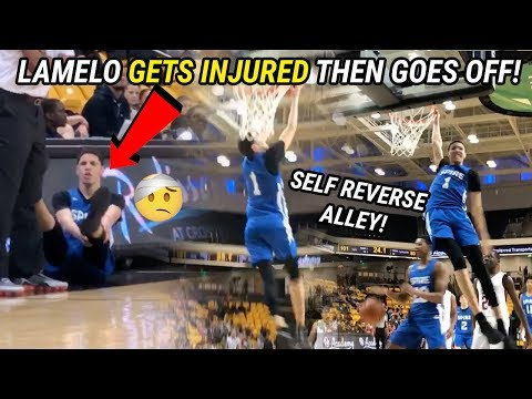 The Pat And Aaron Show - LaMelo Ball Got Hurt Trying To Throw Himself an Alley Oop