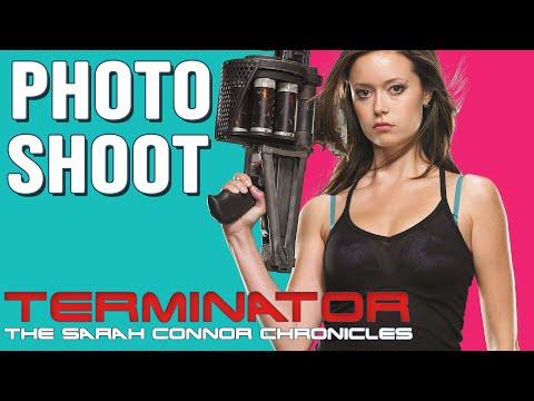 BTS Photoshoot - Terminator: The Sarah Connor Chronicles Season 1