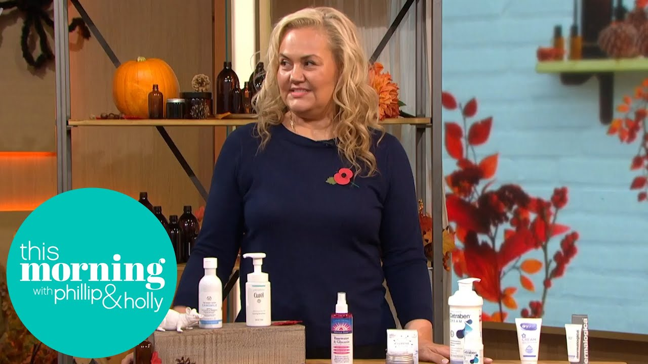 Caroline Hirons Gives Her Top Tips to Care for Sensitive Skin This Winter | This Morning