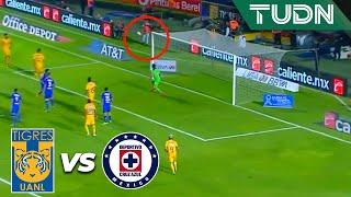 ¡Se cimbra el marco celeste! | Tigres 0 - 1 Cruz Azul | Liga Mx - AP 19 - J 15 | TUDN