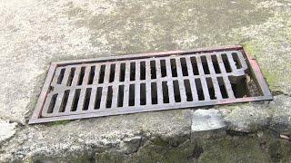 Чугунные люки и решетки канализации стали предметами частых краж