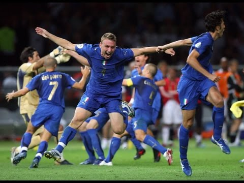 ITALIA 2006 - campioni del mondo! Last penalty by Fabio Grosso