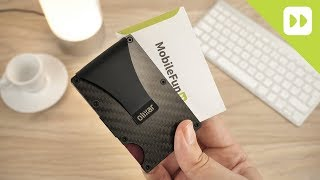 Olixar RFID Carbon Fibre Card Case with Money Clip Review