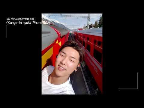 [CNBLUE, 스위스와 사랑에 빠지다] Behind 01. MinHyuk's cam 'Where we go?'_(Eng sub)