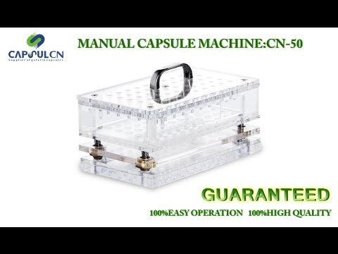 pill encapsulating machine
