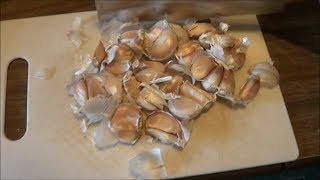 Making Garlic Spray as a Natural Pesticide