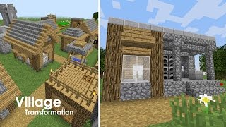 Minecraft Village Upgrade Blacksmith YouTube